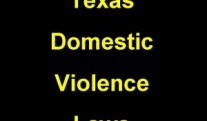 Assault and family violence arrests in Texas are serious charges